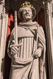 Henry IV Statue in York Minster Royalty Free Stock Photos