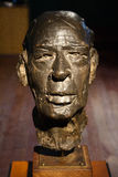 Henry Miller head statue Royalty Free Stock Photography