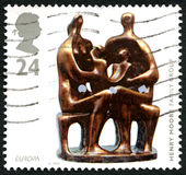 Henry Moore UK Postage Stamp Royalty Free Stock Image