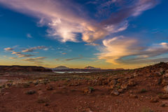 Henry Mountains, Utah central du sud, Etats-Unis images stock