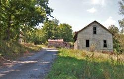 Henry River Mill Village royalty-vrije stock afbeelding
