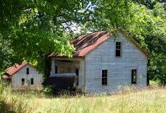 Henry River Mill Village royalty-vrije stock fotografie