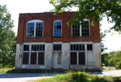 Henry River Mill Village royalty-vrije stock foto's
