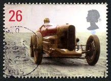 Henry Segrave UK Postage Stamp Stock Photo