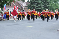 Henry Sibley High School Marching Band Royalty Free Stock Photo