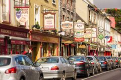 Henry St. Kenmare. Kerry. Ireland Royalty Free Stock Image
