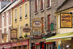 Henry St. Kenmare. Kerry. Ireland Royalty Free Stock Images