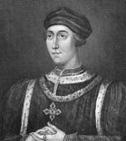 Henry VI. (1421-1471) on engraving from 1830 Royalty Free Stock Photos
