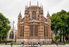 Henry VII kapell, Westminster abbotskloster, London Royaltyfria Bilder