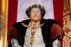 Henry VIII King of England Royalty Free Stock Photos
