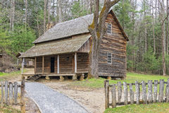 The Henry Whitehead Cabin, at Cade's Cove Stock Photos