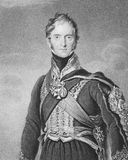 Henry William Paget. Henry Paget, 1st Marquess of Anglesey (1768-1854) on engraving from the 1800s. British military leader and politician, mostly remembered for Royalty Free Stock Images