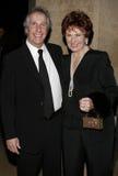 Henry Winkler y Marion Ross Imágenes de archivo libres de regalías