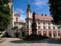 The Henrykow abbey royalty free stock image