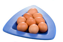 Hens egg Royalty Free Stock Image