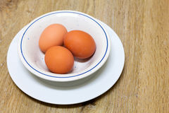 Hens Eggs Royalty Free Stock Photo