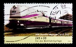 Henschel-Wegmann-treno, benessere: Treni nel serie della Germania, circa 2006 Immagine Stock