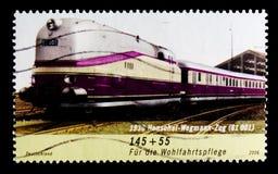Henschel-Wegmann-treno, benessere: Treni nel serie della Germania, circa 2006 Immagini Stock
