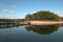 Dutch landscapes - Henschoter lake Stock Photos