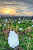 Hensley cemetary sunset, Cumberland Gap National Park Stock Image