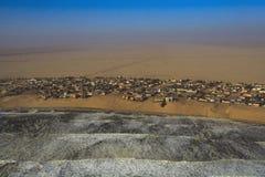 Henties Bay. Sight seeing flight going North of Swakopmund along the Skeleton Coast Namibia Stock Image