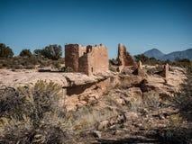 Henweep-Nationaldenkmal in Colorado und in Utah Stockbilder