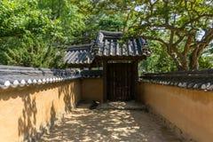 Heo Gyun en Heo Nanseolheon Memorial Park royalty-vrije stock foto