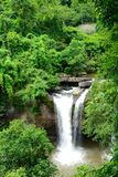 Heo Suwat vattenfall. Royaltyfria Foton
