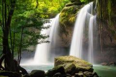 Heo Suwat Waterfall Arkivbilder
