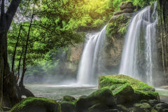 Heo Suwat Waterfall Stock Image