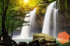 Heo Suwat Waterfall stock photo