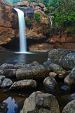 Heo Suwat waterfall in thailand Royalty Free Stock Photography