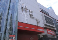 HEP Hankyu Umeda Department Store Osaka Japan Royalty Free Stock Image