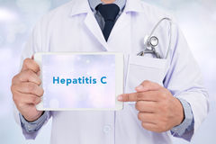 Hepatite C fotos de stock