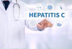 Hepatite C foto de stock royalty free