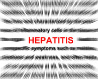 Hepatitis Imágenes de archivo libres de regalías