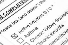 Hepatitis Stock Fotografie