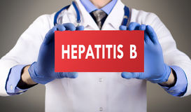 Hepatitis b Royalty Free Stock Image