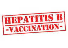 HEPATITIS B VACCINATION Royalty Free Stock Photography