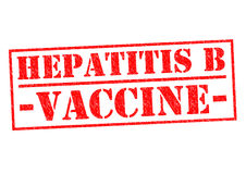 HEPATITIS B VACCINE Stock Image