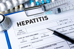 HEPATITIS World hepatitis day: Symbolic color concept raising su Royalty Free Stock Photography