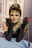 Hepburn de Audrey Fotografía de archivo