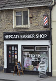 Hepcats Barber Shop Royalty Free Stock Image