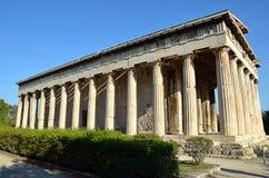 hephaestus寺庙在雅典希腊摄影的 免版税库存图片