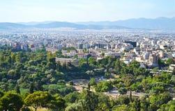 Hephaestus寺庙在雅典希腊 免版税库存图片