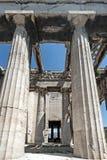 Hephaestus寺庙,古老集市,雅典,希腊 免版税图库摄影