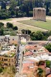 Hephaestus,雅典,希腊寺庙  图库摄影