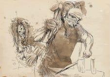 Hephaestus ilustracji