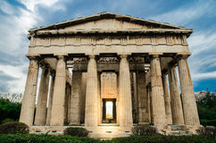 Hephaestus Temple. The temple of Hephaestus in Agora, Athens, Greece Royalty Free Stock Image