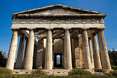 Hephaestus temple, Athens Royalty Free Stock Image